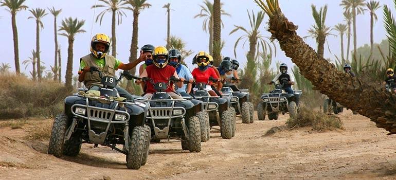 Excursion en quad dans le désert marocain